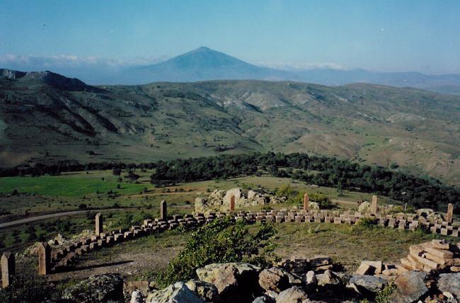 Yıldız Dagı from Ziyaret Tepe, Banaz