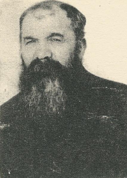Nimri Dede (d. 1986) photograph from İsmail Onarlı's book 'Şeyh Hasan Aşireti'