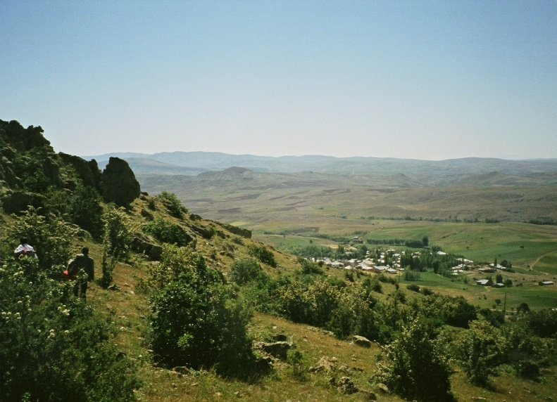 Banaz Village from Topuzlu Baba